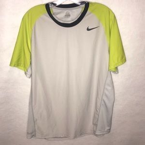 Nike dri fit large tee